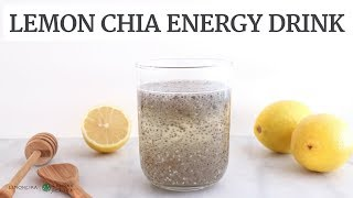 Lemon Chia Energy Drink | Quick & Healthy Recipe | Limoneira