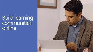Build learning communities online with Yammer