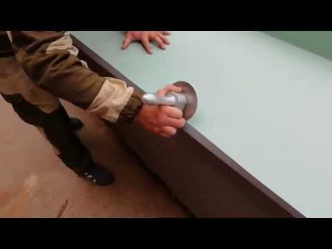Надстенные желоба.Докатка,готовый вид.Подводка картин через рейку в зацеп.