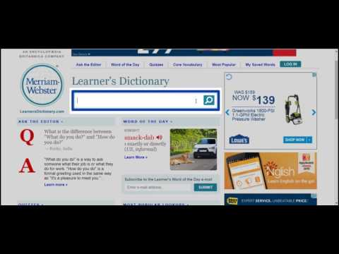 Using a Dictionary for Grammatical Accuracy