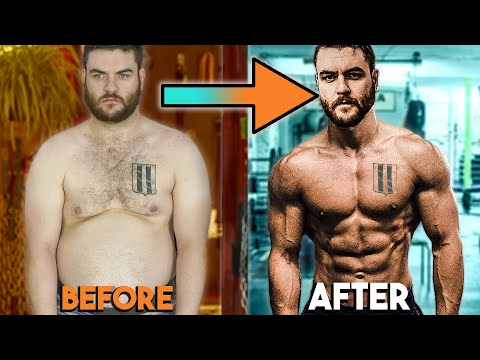 2 MONTH SHOCKING BODY TRANSFORMATION FAT TO SHREDDED