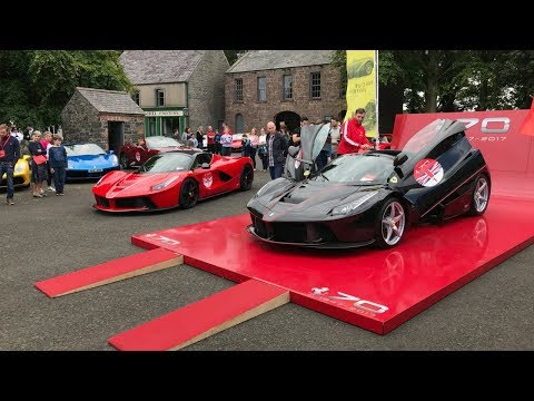 2 LaFerrari Apertas & More Ferrari's in Belfast Northern Ireland - Stavros969