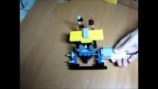 Подъемный механизм 3. Lego Mindstorms Ev3