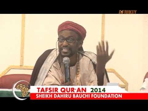 Download Sayyadi Bashir Shk Dahiru Bauchi Tafsir'14 Day 21st
