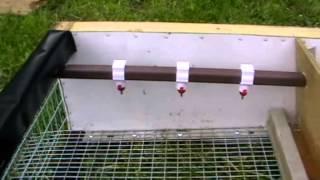 Изготавливаем клетку для перепелов(В этом большом видеоролике подробно показан процесс сборки клеток для перепелов с устройством ниппельных..., 2014-06-17T08:49:14.000Z)