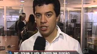 SBT, Folha de S. Paulo e UOL estarão juntos nas Eleições 2014