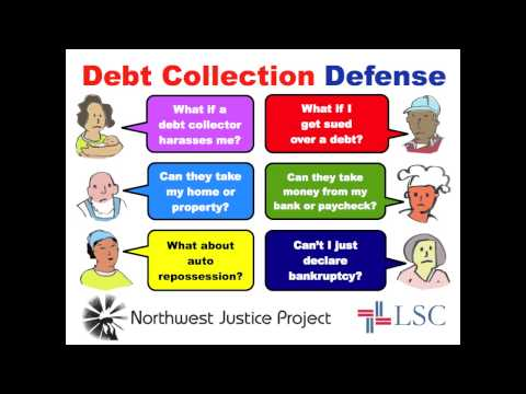 Northwest Justice Project: Debt Collection Defense in Washington State