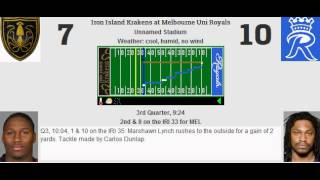 week 6 iron island krakens 3 2 melbourne uni royals 3 2