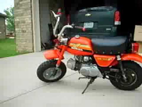 1978 honda z50a mini trial bike great condition youtube rh youtube com Honda 90 Trail Bike Honda Mini Bikes Product