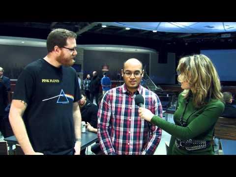 Larissa D at DemoCamp 10 Hamilton - Green Pixel Games