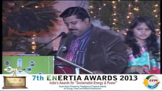 Watch the Power Packed 7th ENERTIA Awards 2013 - The Metropolitan Hotel New Delhi