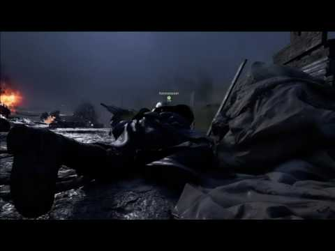 Battlefield 1 medic action. Pushing the objective with a syringe!