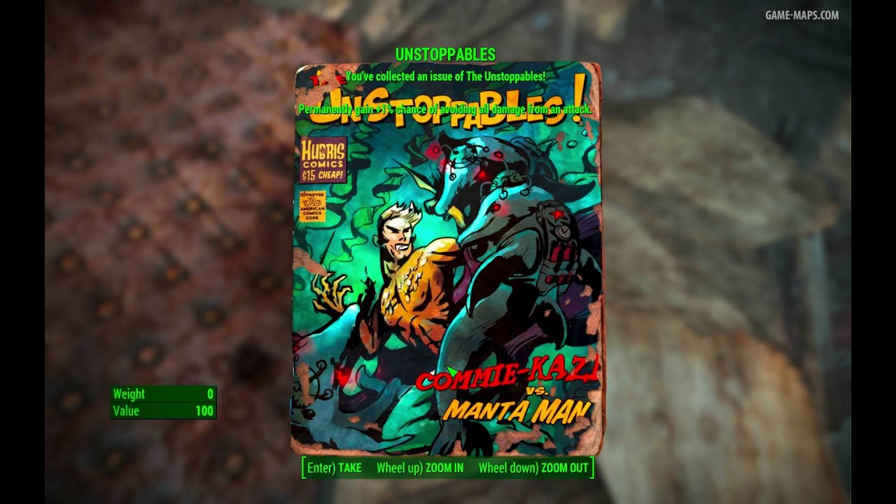 Unstoppables Magazine Westing Estate Fallout 4 Game Maps Com