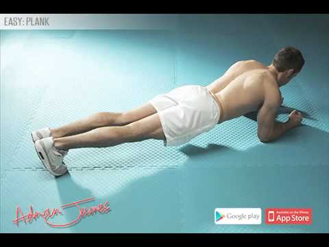 Adrian James 6 Pack Abs Workout - Plank