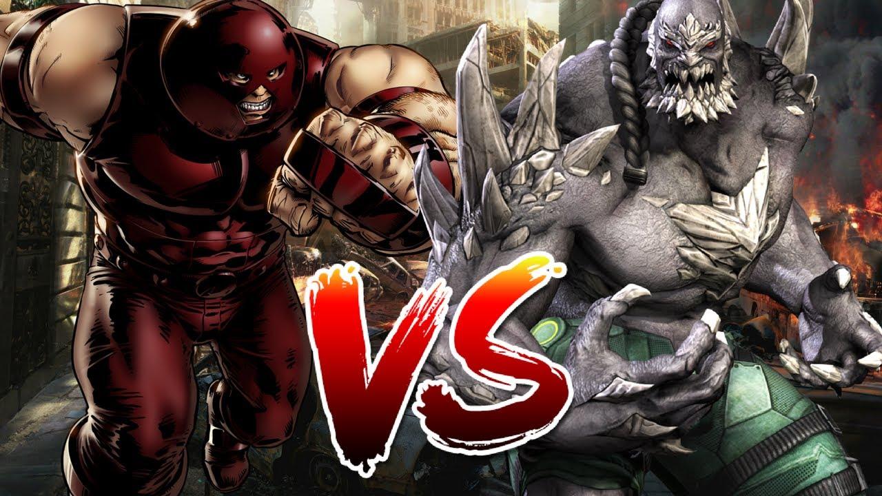 Doomsday Vs Juggernaut Who Wins Youtube