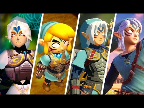 Evolution of Fierce Deity Link / Oni Link (2000 - 2019)
