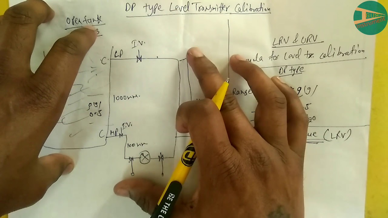 DP Type Level Transmitter Calibration Procedure of Dry Leg | Instrument Guru