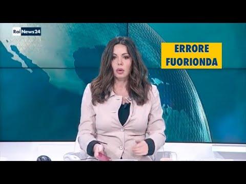 Rai News 24 - Errore fuorionda a insaputa della giornalista
