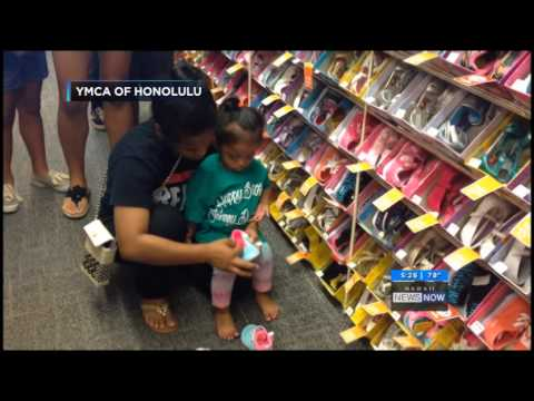 2015 Payless Gives Shoes 4 Kids – Media Coverage (KGMB) – April 19, 2015