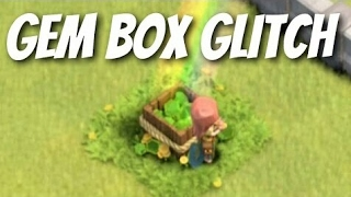 Clash of clans Dissappearing gembox glitch || Clash of clans unsual bases || Clash of clans glitches