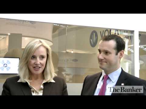 Marion King, VocaLink & Craig Donaldson, Metro Bank interview -- Sibos 2010