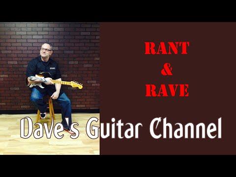 RANT & RAVE - OEM Made Guitars