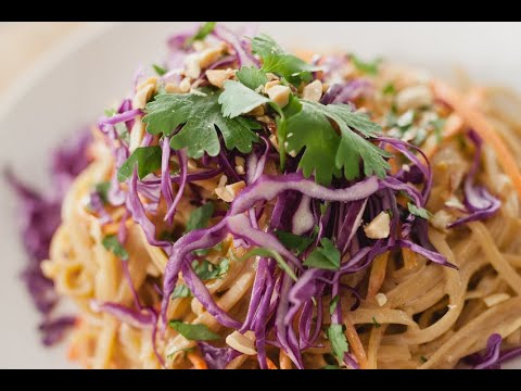 Easiest Ever Vegan Thai Peanut Noodles Recipes