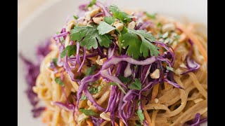 Easiest Ever Vegan Thai Peanut Noodles Recipes