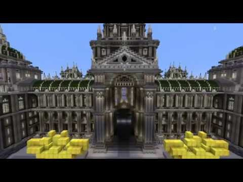 Minecraft Epic Imperial Palace (based on the Brussels Palace of Justice)