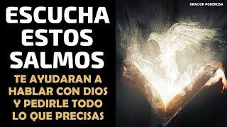 Escucha estos Salmos, te ayudarán a hablar con Dios y pedir...