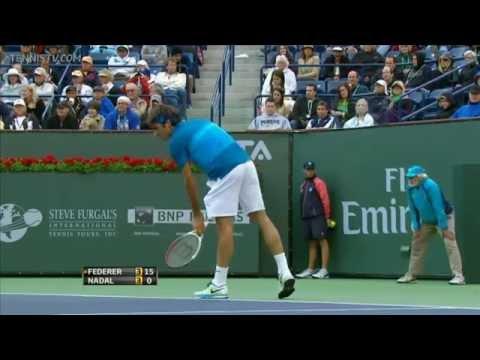 Indian Wells 2012 - Federer vs Nadal - Semifinal - 720p Full Match