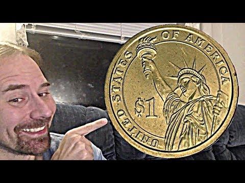 1 Dollar 2012 D Grover Cleveland 2nd term Presidential Dollar