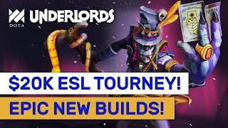 $20K ESL TOURNAMENT! Epic New Builds & Combos! #Sponsored