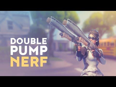 DOUBLE PUMP OFFICIAL NERF! (Fortnite Battle Royale)