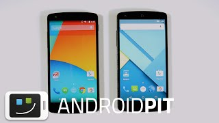 Android Lollipop vs Android KitKat