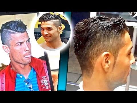 Hairstyle Cr7 Cristiano Ronaldo For Men 2015 Youtube