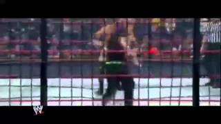 WWE No Way Out 2009 - RAW Elimination Chamber Match Highlights