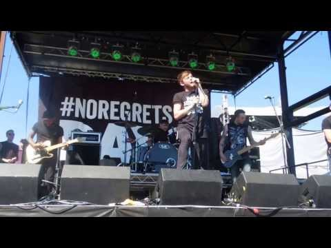 Kids In Glass Houses - Drive (Live Warped Tour, Melbourne 7/12/13)