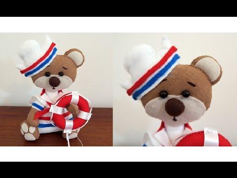 Feltro: Urso Marinheiro