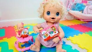 BABYALIVE - Kinder Ovo na Lojinha com a Bia Lobo