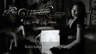 Kung Wala Ka Na by Maria Morena (lyric-video)