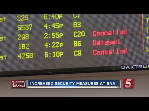 BNA Increases Security Following Ft. Lauderdale Shooting