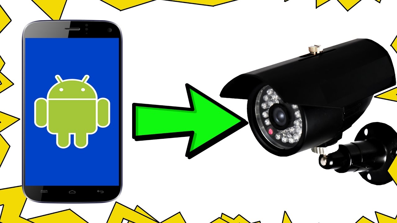 Turn old phone into SECURITY CAMERA or BABY MONITOR (FOR FREE)