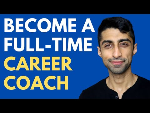 How to become a Career Coach and Build a Full-Time Income