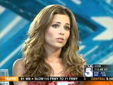 Cheryl Cole aXed from the US X Factor (KTLA Morning News - May 27th 2011)