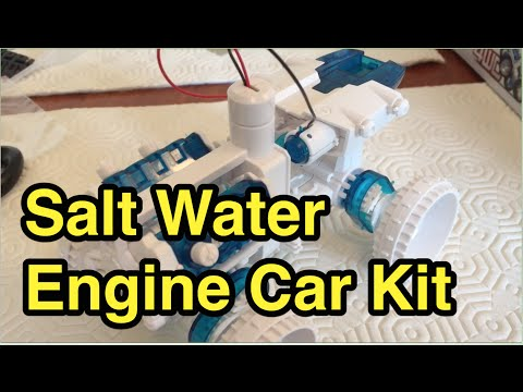 Salt Water Engine Fuel Cell Car Kit