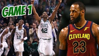 Cavs vs Celtics Game 1 | Celtics Showed Their Whole Hand Already