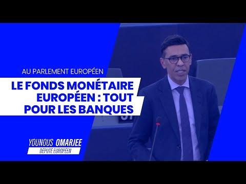 LE FONDS MONÉTAIRE EUROPÉEN : TOUT POUR LES BANQUES