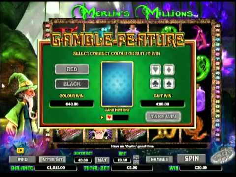Video Merlin's millions slot game