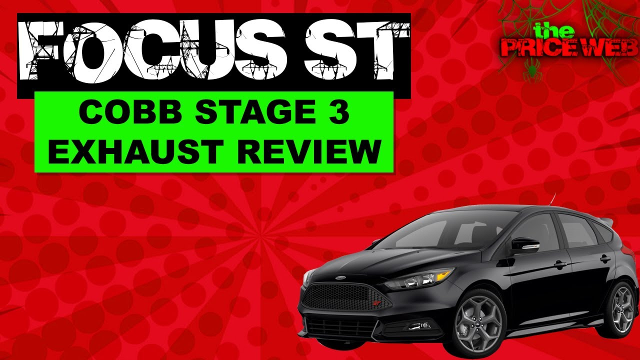 Focus St Exhaust >> 2015 Ford Focus ST - Cobb Turbo-Back Exhaust (Stage 3) - YouTube